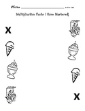 Multiplication Facts I Have Mastered Display Poster FREE