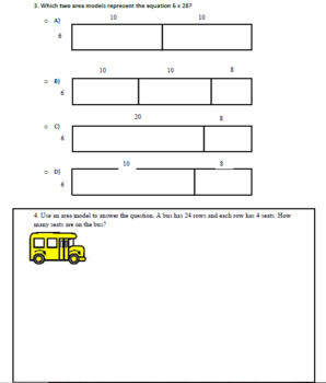 Mulitplication Lesson Plan and Assessment