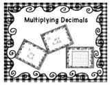 Mulitplying Decimals Task Cards