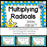 Mulitplying Radicals Boom Cards--Digital Task Cards