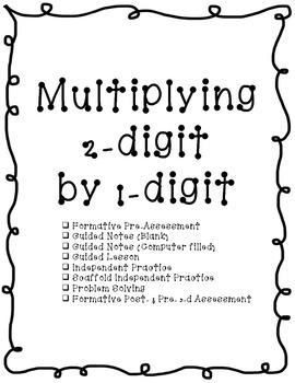 4th Grade Multiplication