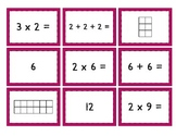 Mult. Match Up: Easy {Multiplication, Repeated Addition, and Arrays - Oh My!}