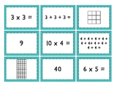 Mult. Match Up  {Multiplication, Repeated Addition, and Arrays - Oh My!}