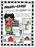 Multi-Step Word Problems (QR Codes)