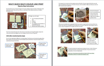 Multi-Block Multi-Colour Lino Block Carving Activity