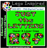 Multi Color Building Block Letters - Poster Style -Commerc