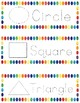 Multi-Color Shapes Tracing Strips