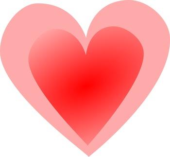Multi Color Valentine Gradient Hearts