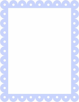 Multi-Colored Pastel Lace Frames/Borders {Personal or Commercial Use}