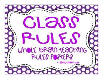 Multi-Colored Polka Dot Themed Whole Brain Teaching Classr