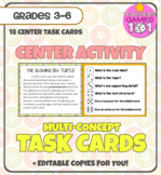 Multi-Concept TASK CARDS - with Editable Versions