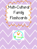 Multi-Cultural Family Flashcards