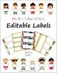 Multi-Cultural Music Kids - Decor Bundle - Poster, Borders, Labels, & Cut-outs