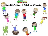 Multi-Cultural Sticker Charts