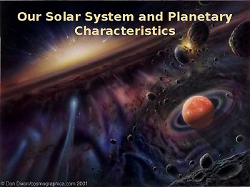 Multi-Day Bundled Lesson on Planetary Characteristics