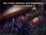 Multi-Day Bundled Lesson on Planetary Characteristics