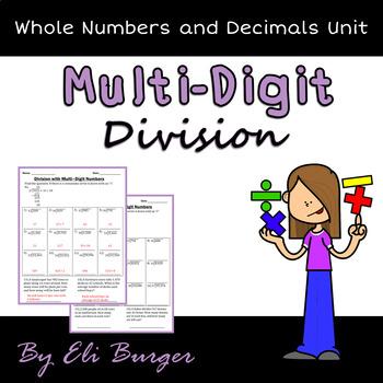 Multi-Digit Division Worksheets