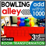 Multi-Digit Addition  - Bowling Real World Math Activity