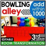 Multi-Digit Addition  - Bowling Classroom Transformation