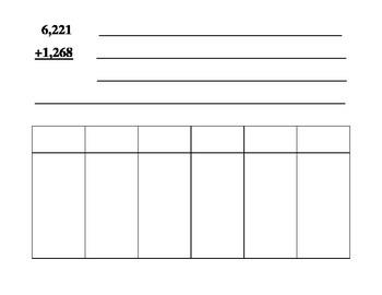 Multi-Digit Addition Common Core Lesson Plan and Materials