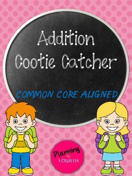 Multi-Digit Addition Cootie Catcher