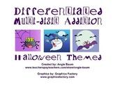 Multi-Digit Addition Halloween Theme