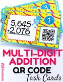 Multi-Digit Addition QR Code Fun
