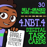 4.NBT.4 Multi-Digit Addition & Subtraction ★ Self-Graded Google Classroom Math