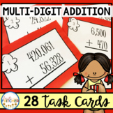 Multi-Digit Addition Task Cards