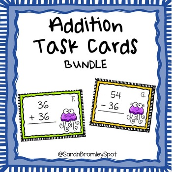 Multi-Digit Addition Task Cards