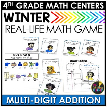 Winter Multi-Digit Addition Game
