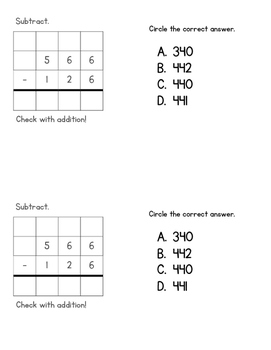 Multi-Digit Addition and Subtraction 3.NBT.2
