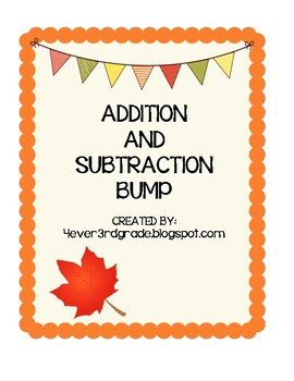 Multi-Digit Addition and Subtraction Bump