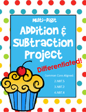 Multi-Digit Addition and Subtraction Project (Differentiated)