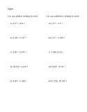 Multi-Digit Arithmetic Quiz