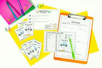Multi-Digit Division Guided Math Workshop Lesson Plan Unit