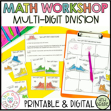 Multi-Digit Division Guided Math Workshop Lesson Plan Unit