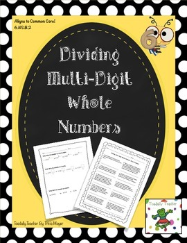 Multi-Digit Division with Whole Numbers