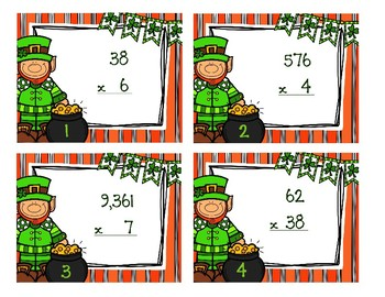 Multi Digit Multiplication 4.NBT.5