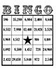 Multi- Digit Multiplication Bingo