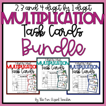 Multi Digit Multiplication Coloring Teaching Resources | Teachers ...
