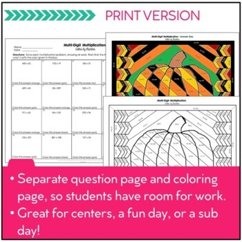 Word Matching Worksheets Multidigit Multiplication Math Color By Number Fall Theme  Tpt Estimating Sums And Differences Worksheets 5th Grade with Mixed Stoichiometry Practice Worksheet Multidigit Multiplication Math Color By Number Fall Theme Central Tendency Worksheets Pdf