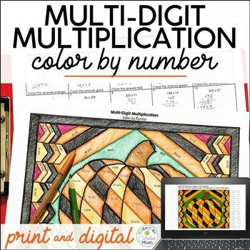 MultiDigit Multiplication Math