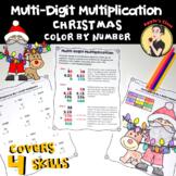 Multi-Digit Multiplication Color by Worksheet