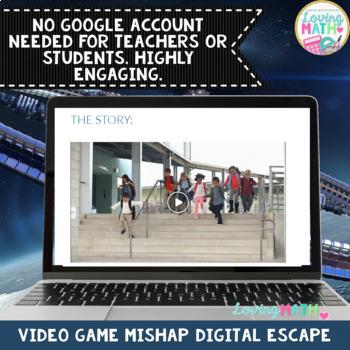Multi Digit Multiplication Digital Escape Room