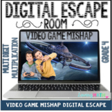 Multi Digit Multiplication Digital Escape Room DISTANCE LEARNING