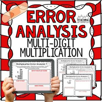 Multi-Digit Multiplication Error Analysis