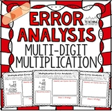 Multi-Digit Multiplication Error Analysis | Distance Learning | Google Classroom