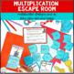 Multi-Digit Multiplication Escape Room | Multiplication Game