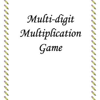 Multi-Digit Multiplication Game